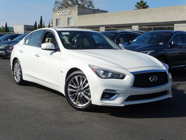 new 2019 infiniti q50 luxe sedan in san diego 190258 kearny mesa infiniti. Black Bedroom Furniture Sets. Home Design Ideas