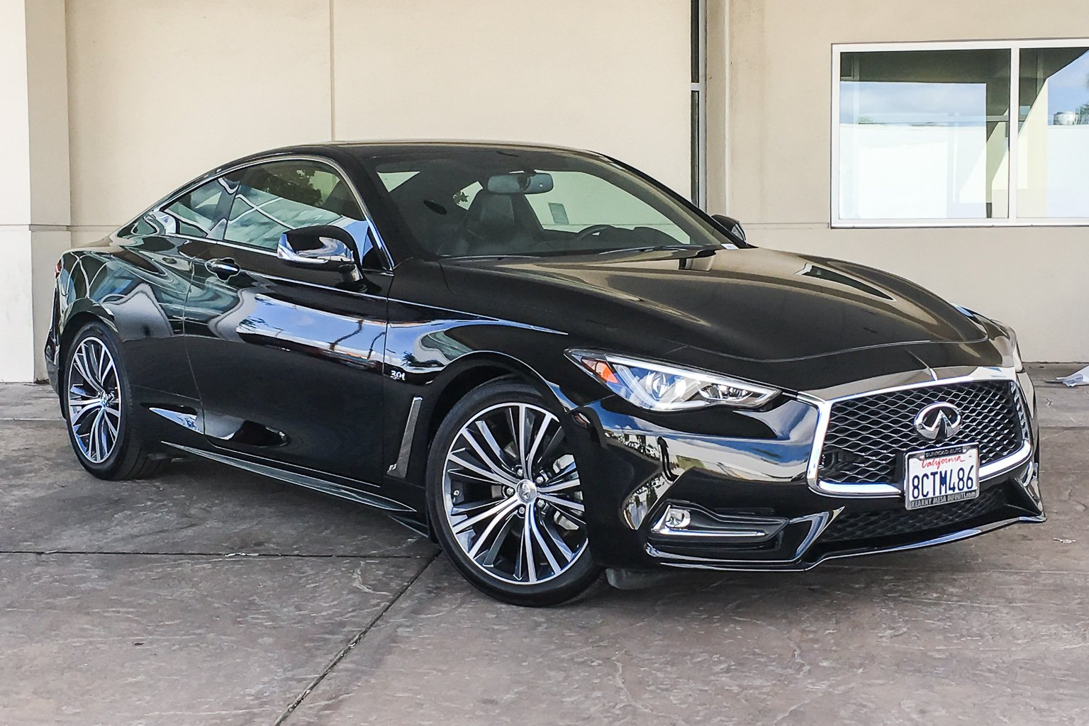 Certified Pre Owned 2018 Infiniti Q60 3 0t Luxe 2dr Car In San Diego